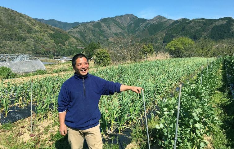 桐島さん 畑