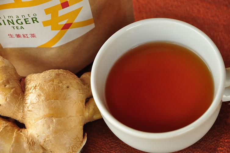 生姜紅茶 しまんと紅茶 桐島畑