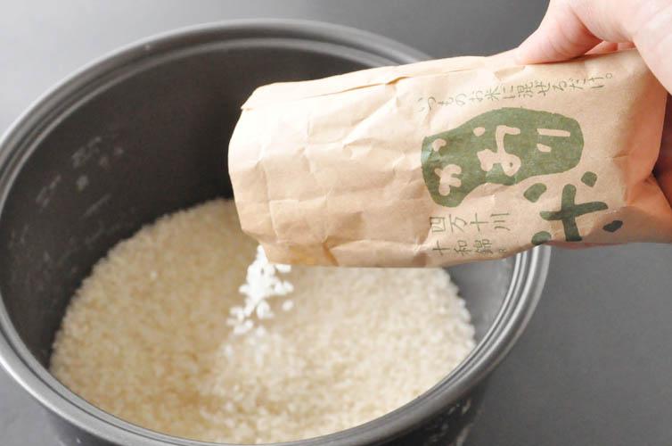 いつものお米に混ぜるだけの簡単さ