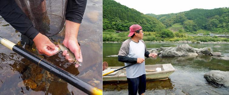 ともがけ 釣る健一さん写真