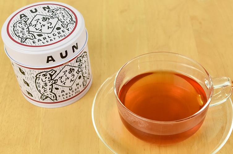 パッケージ 梅原真 デザイン あうんアールグレイ 馬路村 四万十町 フレーバーティー しまんと紅茶 和紅茶 国産